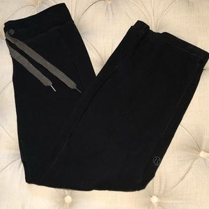 Lulu lemon wide leg sweat pants